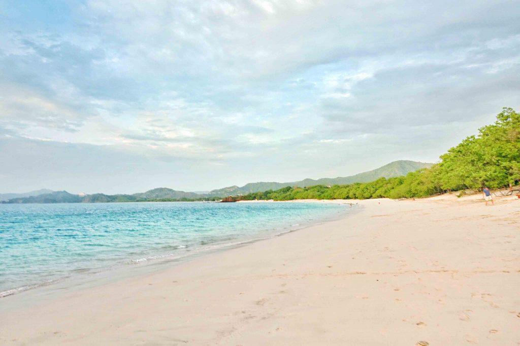 westin playa conchal costa rica before sunset