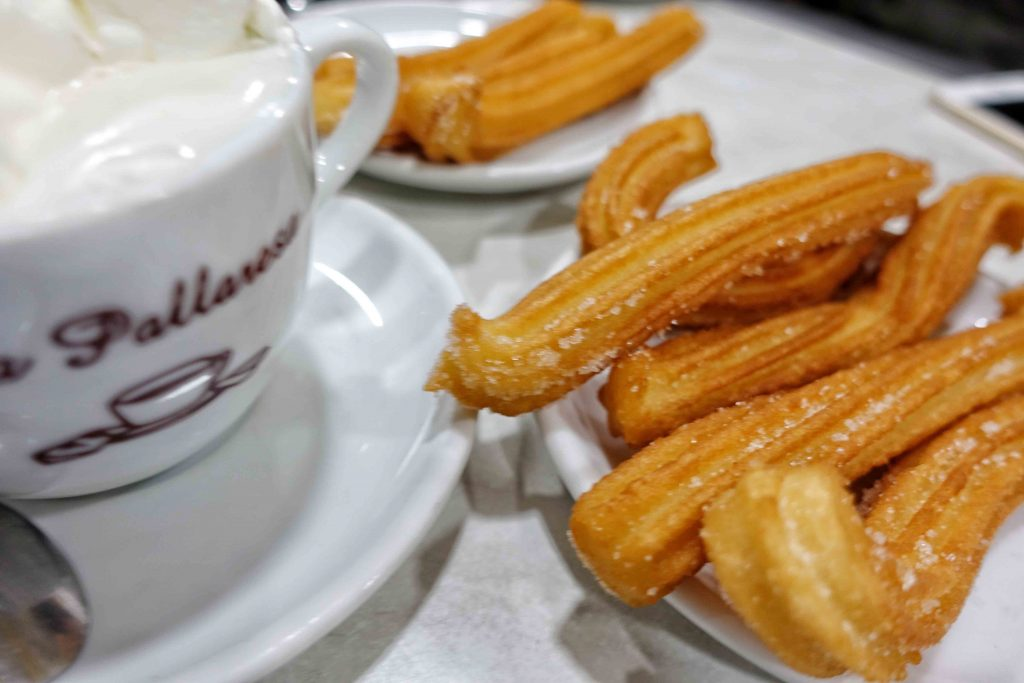 churros-con-chocolate-La Pallaresa