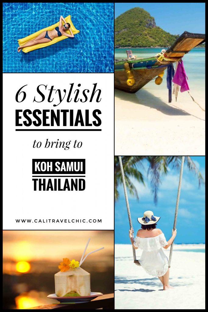 6 Stylish Essentials to bring to Koh Samui Thailand