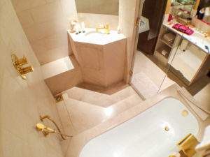 Top View of Bathroom