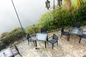Chateau Eza Restaurant, Balcony