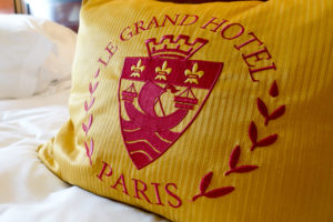 Junior Suite - Le Grand Hotel Pillow