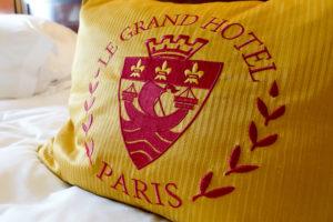 Junior Suite - Le Grand Hotel Pillow