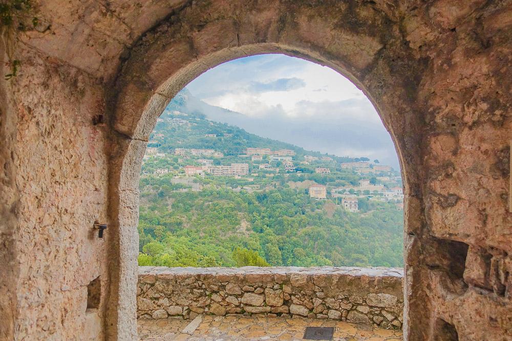 Medieval Eze Village Arch View