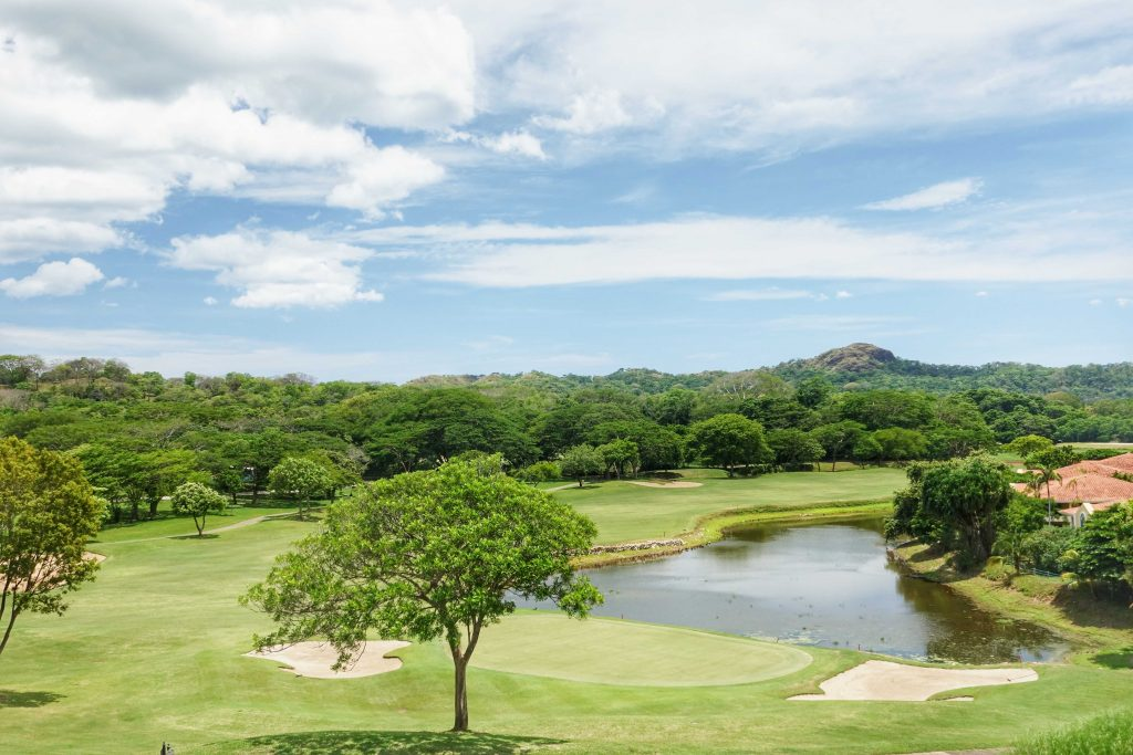 The beautiful golf course at The Westin Golf Resort & Spa, Playa Conchal