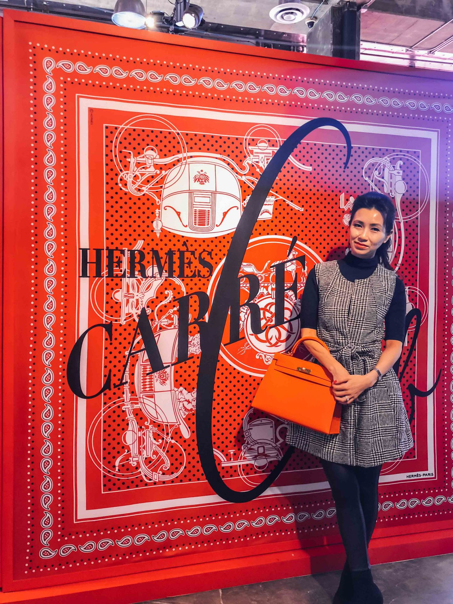 Los Angeles: Inside Look of Hermès Carré Club Pop Up