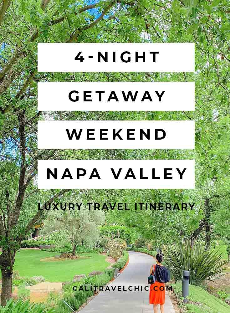 Napa Valley: 4-Night Memorial Weekend Getaway
